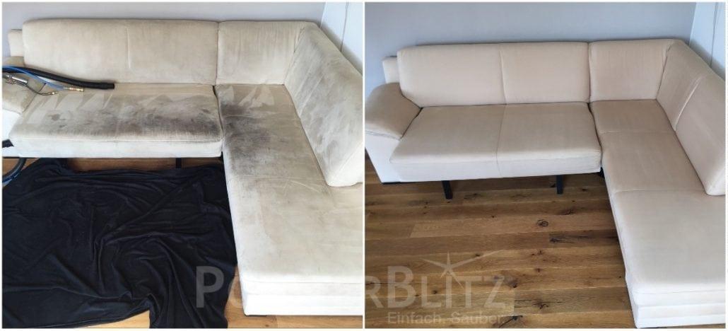Couch Reinigung Polsterblitz Einfach Sauber
