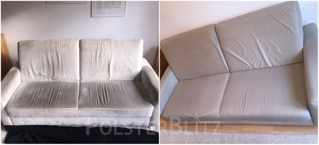 Gut bekannt Sofa Reinigung | Polsterblitz - Einfach. Sauber. ZA44
