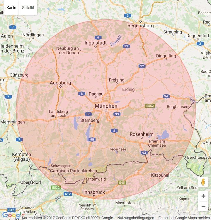 München Einzugsgebiet