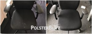 Stuhl Reinigung Vorher-Nachhher