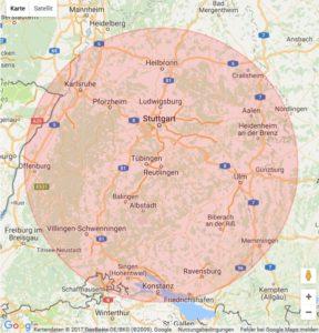 Polsterblitz Celle Einzugsgebiet