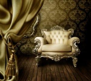 Schöner alter Sessel
