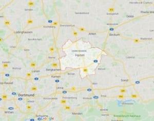 Karte Polsterblitz Polsterreinigung