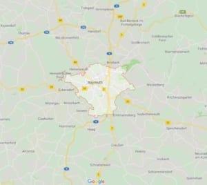Polsterblitz Polsterreinigung Gebiet Bayreuth
